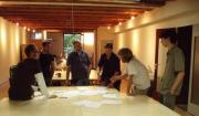 Peach team: Andy, Lyubomir, Enrico, Sacha, Nathan, Brecht