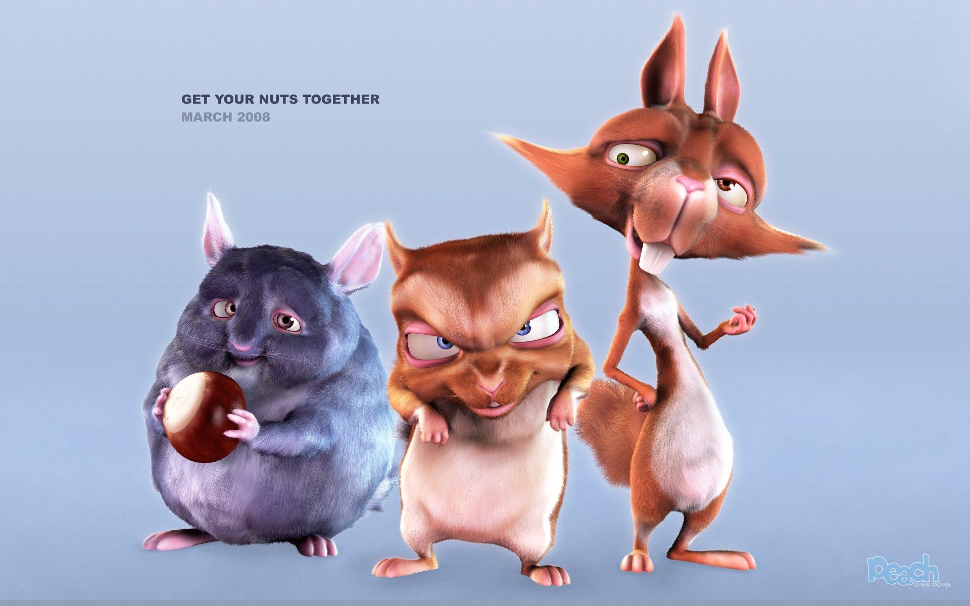 Big Buck Bunny Teaser Poster